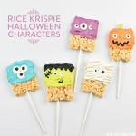 Rice Krispie Halloween Characters