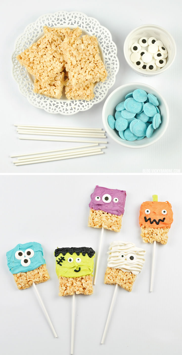 Rice Krispie Halloween Characters | Vicky Barone
