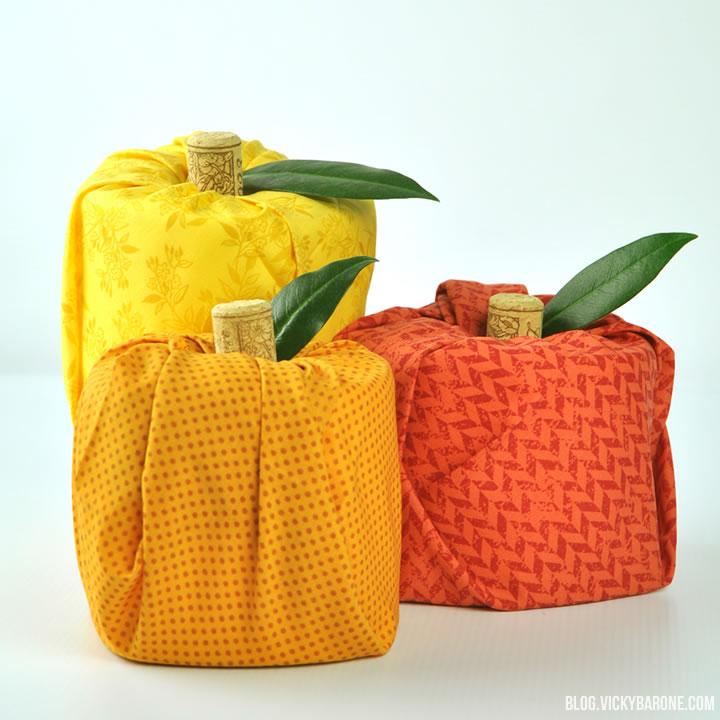 DIY Toilet Paper Pumpkins | Vicky Barone