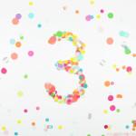 Happy 3rd Blogiversary!