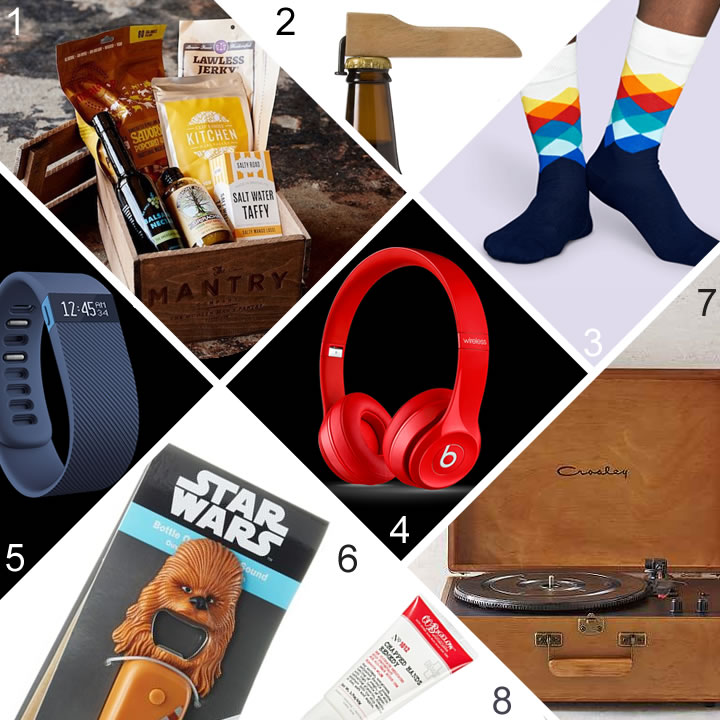 Holiday Gift Guide for Him | Vicky Barone