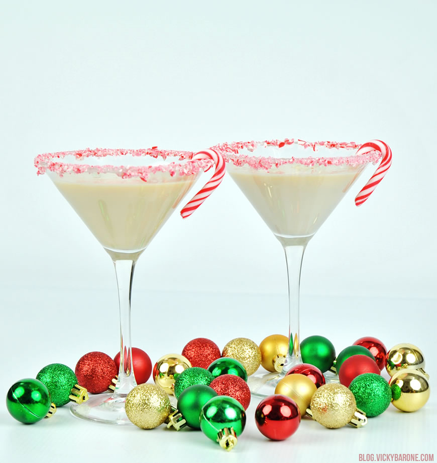 Peppermint Martini | Vicky Barone
