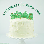 Christmas Tree Farm Cake