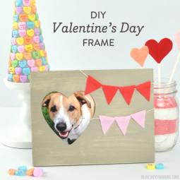 DIY Valentine's Day Frame   Vicky Barone