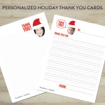 Personalized Holiday Thank You Cards by Places for Faces