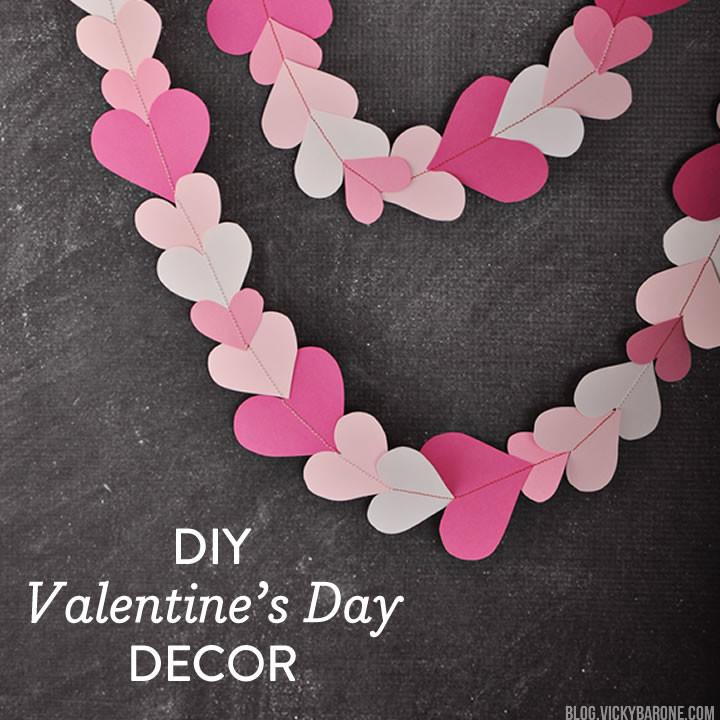 DIY Valentine's Day Decor | Round Up | Vicky Barone