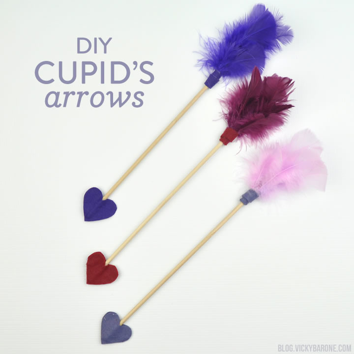 DIY Cupid Arrows | Vicky Barone