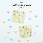 DIY Valentine's Day Coasters