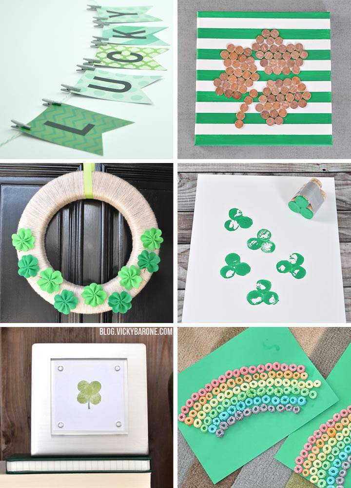 DIY St. Patrick's Day Ideas | Vicky Barone