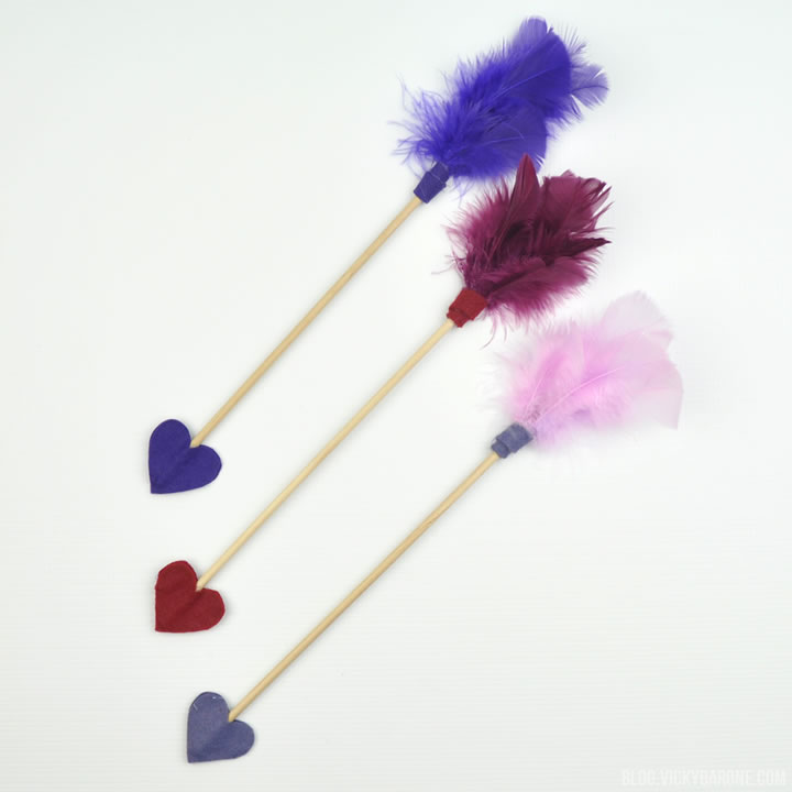 DIY Cupid Arrows | Valentine's Day | Vicky Barone
