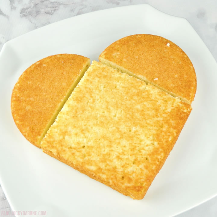DIY Heart-Shaped Cake for Valentine's Day | Vicky Barone