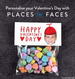 Personalize Your Valentine's Day with Places for Faces   Vicky Barone   custom printable valentines