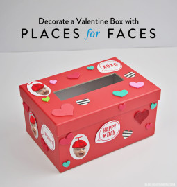 Decorate a Valentine Box with Places for Faces   Vicky Barone