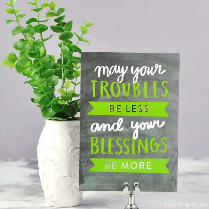 St. Patrick's Day Greeting Card | Vicky BArone