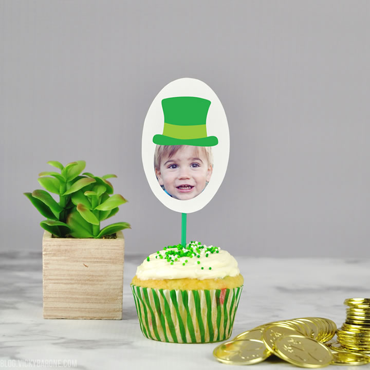 Personalize St. Patrick's Day with Places for Faces | Vicky Barone