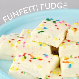 Funfetti Fudge | Vicky Barone