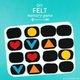 DIY Felt Memory Game