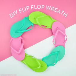 DIY Flip Flop Wreath | Vicky Barone