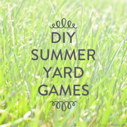 Fun in the Sun: Yard Game DIYs