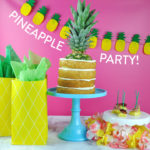 Pineapple Party with Places for Faces!