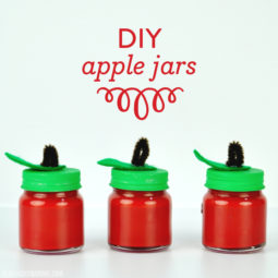 DIY Apple Jars | Back to School | Teacher Gift Ideas | Vicky Barone