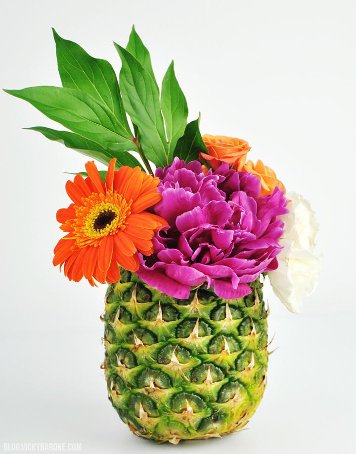 Diy fruit vases vicky barone