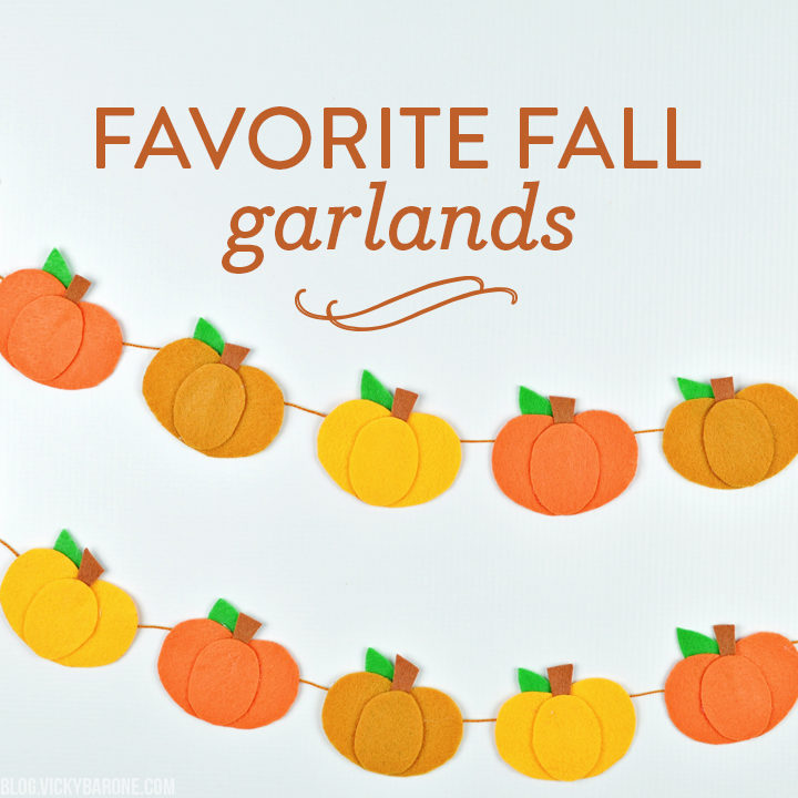 Favorite Fall Garlands | Vicky Barone