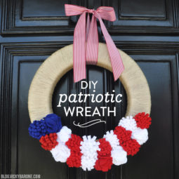 DIY Patriotic Wreath