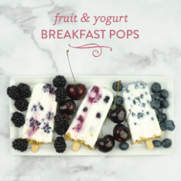 Fruit & Yogurt Breakfast Pops