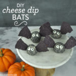 DIY Cheese Dip Bats