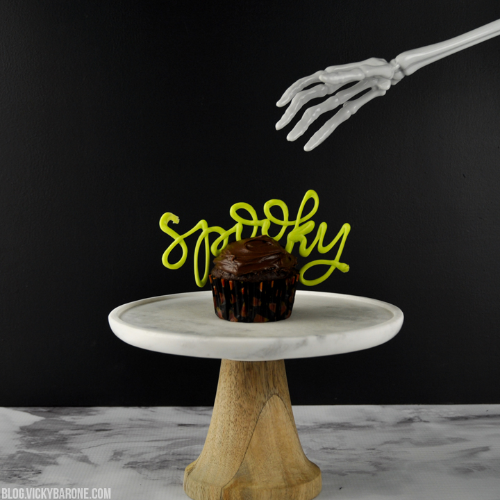 Halloween Candy Melt Cupcakes | Vicky Barone