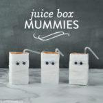 DIY Juice Box Mummies