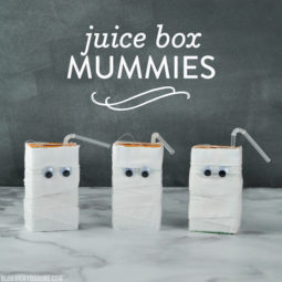 DIY Juice Box Mummies | Vicky Barone