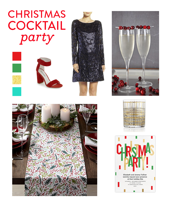 Christmas Cocktail Party with Paperless Post | Vicky Barone-1