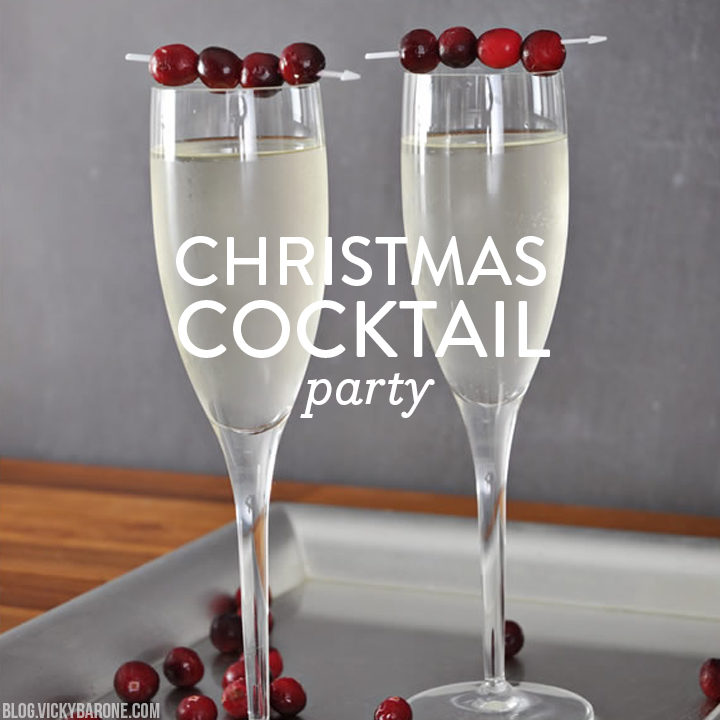 Christmas Cocktail Party with Paperless Post | Vicky Barone