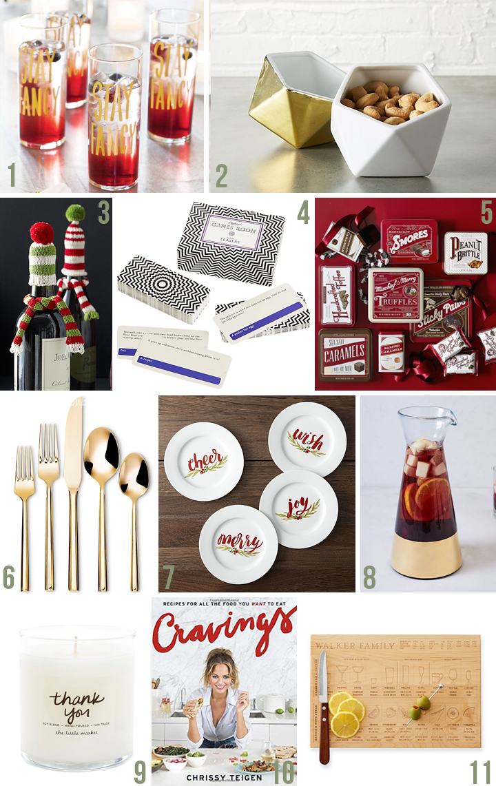 Holiday Gift Guide 2016 | For the Host | Vicky Barone
