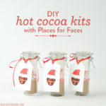 DIY Hot Cocoa Kits with Places for Faces
