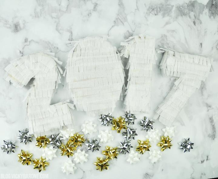DIY New Year's Eve Piñatas | Vicky Barone