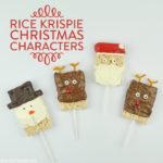 Rice Krispie Christmas Characters