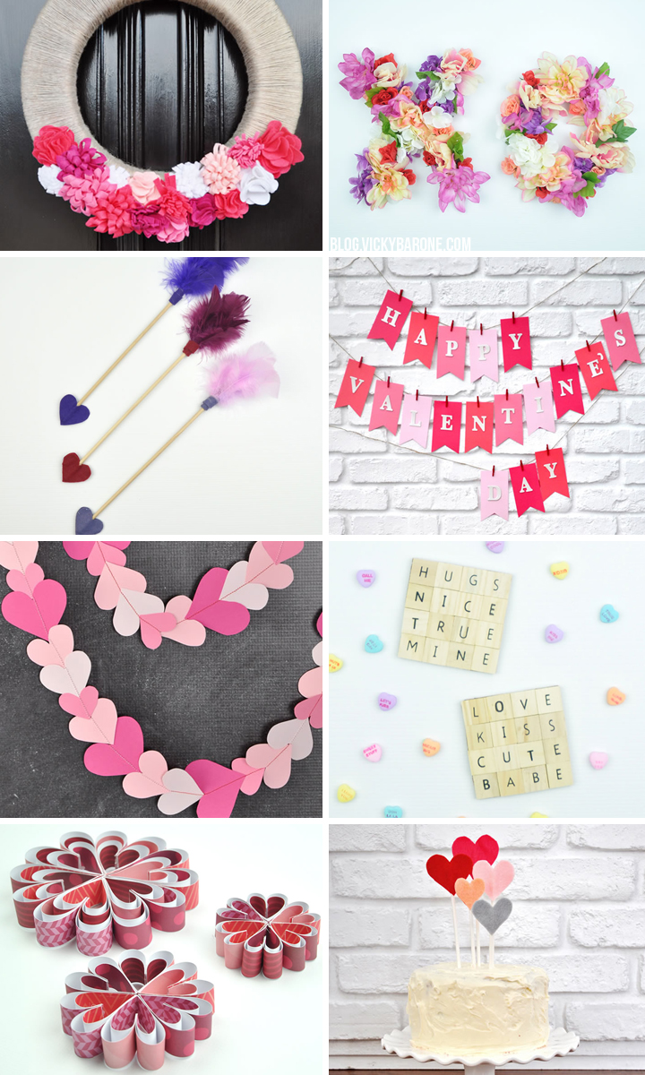 DIY Valentine's Day Round Up | Vicky Barone