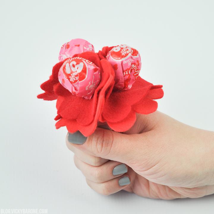 DIY Lollipop Flowers | Vicky Barone