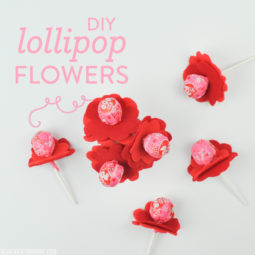 DIY Lollipop Flowers | Vicky Barone