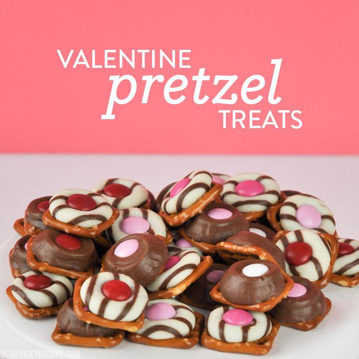 Valentine Pretzel Treats | Vicky Barone