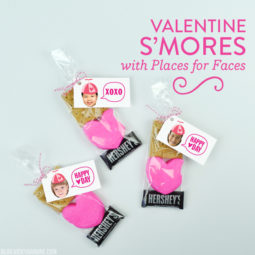 Valentine S'mores with Places for Faces | Vicky Barone
