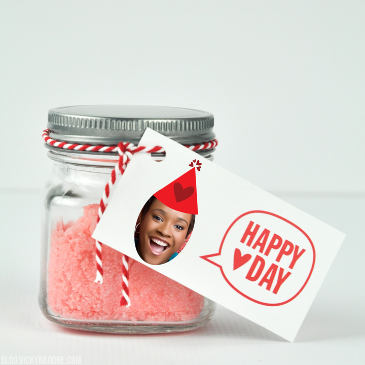 DIY Valentine's Day Sugar Scrub | Places for Faces | Vicky Barone