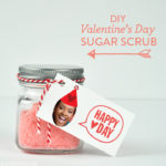 DIY Valentine's Day Sugar Scrub Favors