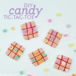DIY Candy Tic Tac Toe